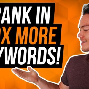 How to Rank Your Book Higher on Amazon - EASY kindle publishing keyword ranking strategy!