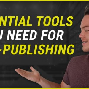 5 Essential Tools for Kindle Self-Publishing - Keyword Research, Outsourcing, Cover Design and More
