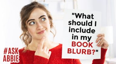 """How do I write a good BOOK BLURB?"" 
