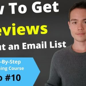 HOW TO GET BOOK REVIEWS On Amazon Even If You Have No Following | Free Publishing Course | Video #10