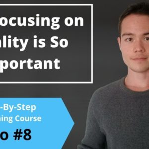 Why You MUST Focus On High-Quality Books | Free Self-Publishing Course | Video #8