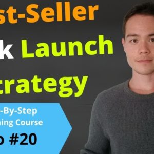 HOW TO MARKET YOUR BOOK for Long-Term Sales | Best-Selling Book Launch Strategy! | Video #20