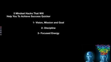 5 Mindset Hacks That Will Help You To Achieve Success with Amazon Kindle Publishing Quicker