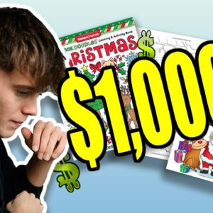 Christmas Coloring Book Niche - They Made $1,000s!
