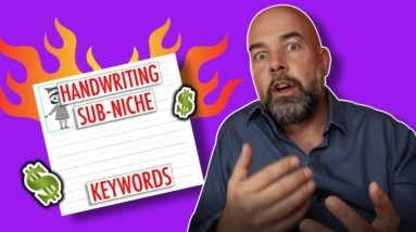 Top 5 Handwriting KDP Low Content Book Niches - Passive Income with KDP Publishing