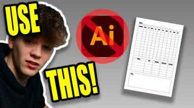 Don't Have Adobe Illustrator to Create KDP Books? Watch This Video.