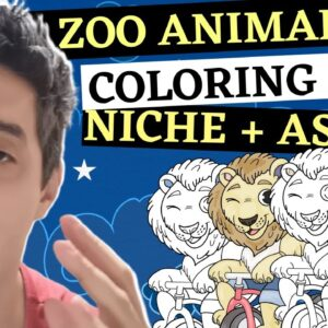 Easily Make Zoo Animal KDP Coloring Books To Sell On Amazon In 2021