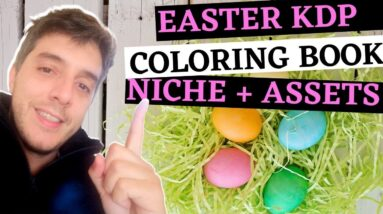 Easy Easter KDP Coloring Book Keyword Reveal Plus Book Creation Guide