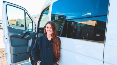 SAYING GOODBYE TO OUR SPRINTER VAN 🚐 Preparing for van life (Day in the life 005 ) | Natalia Leigh