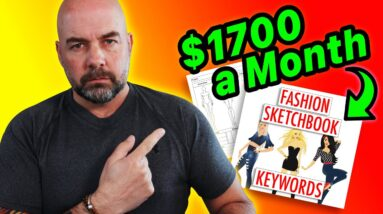 $1700 a Month Cool KDP Niche - Easy to Create Self Publishing Book