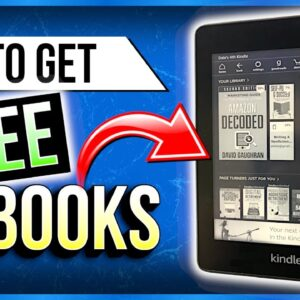 How To Download Free eBooks On Kindle Paperwhite: 100% Legit