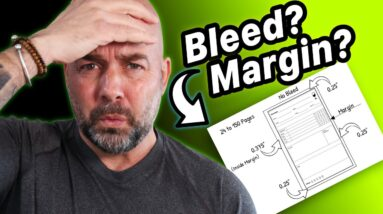 How to Format KDP Self Published Books - Bleed and Margin