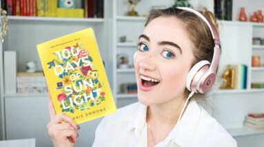 I made my own AUDIOBOOK! (special preview + bloopers) 100 Days of Sunlight 🎧