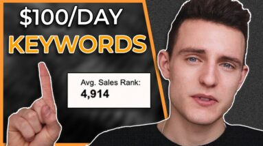 Two $100/day keywords for Amazon KDP to get into NOW! (Killer Keywords Ep. 2)