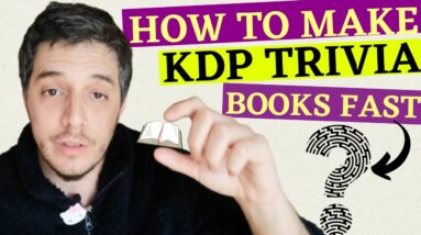 How To Make KDP Trivia Book Interiors And Covers That Convert On Amazon
