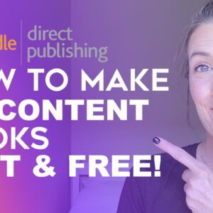 How To Create Amazon KDP No Content Books FAST & FREE! - How To Make Notebooks and Journals for KDP!