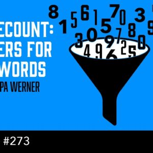 ScribeCount: Numbers for Your Words (The Self Publishing Show, episode 273)