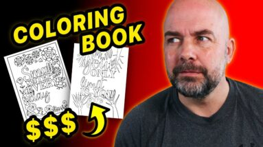 Make a KDP Coloring Book Interior FAST That Makes $$$