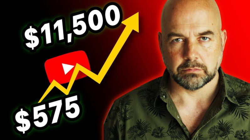 From $575 to $11,500 a Month in 1 Year on YouTube