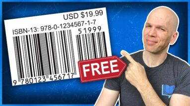 How to Get an ISBN Number for Amazon & Beyond   #shorts