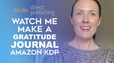 Create A Gratitude Journal To Sell on Amazon KDP Using Creative Fabrica - Low Content Books