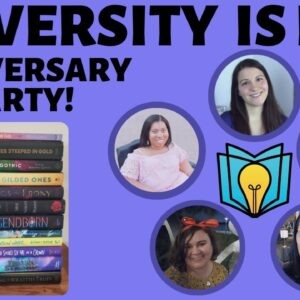Diversity is Lit Book Club 1 Year Anniversary Party + Giveaway!