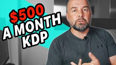 This $500 a Month KDP Niche Got Me Started in Self Publishing