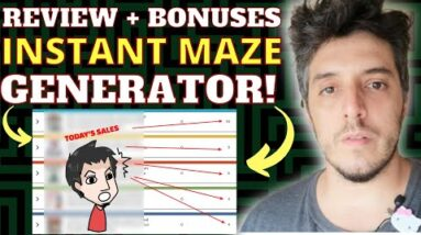 Best Instant Maze Generator Review With Custom Bonuses And Discount