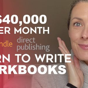 How To Make $40K Per Month With Learn To Write Workbooks - KDP Low Content Book Publishing