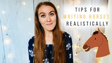TIPS FOR WRITING ABOUT HORSES 🐴 How to write horses realistically | Writing Tips | Natalia Leigh |