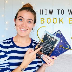 HOW TO WRITE A BACK COVER BLURB 📚 Tips for writing a book blurb | Natalia Leigh