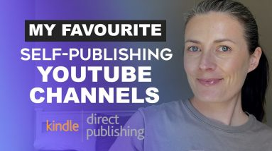 My Favourite Self-Publishing YouTube Channels For Low Content Book Publishing With Amazon KDP