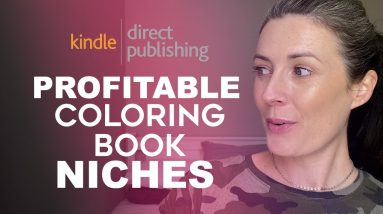 Profitable Coloring Book Niches for Amazon KDP - Low Content Books To Sell on Amazon