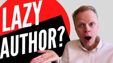 The lazy author's way to self-publish